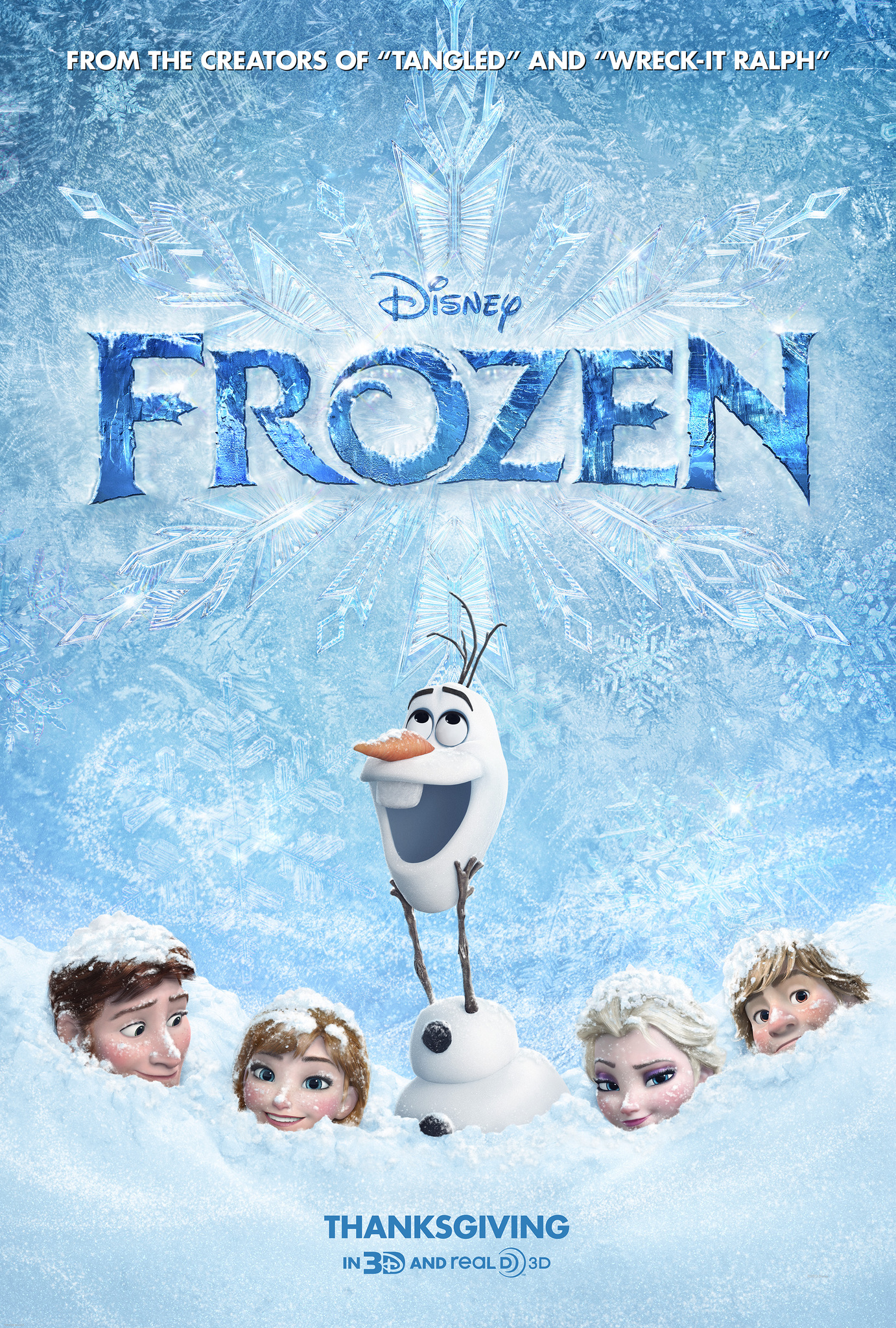 "Walt Disney Animation Studios Announces the Return of ""FROZEN"""