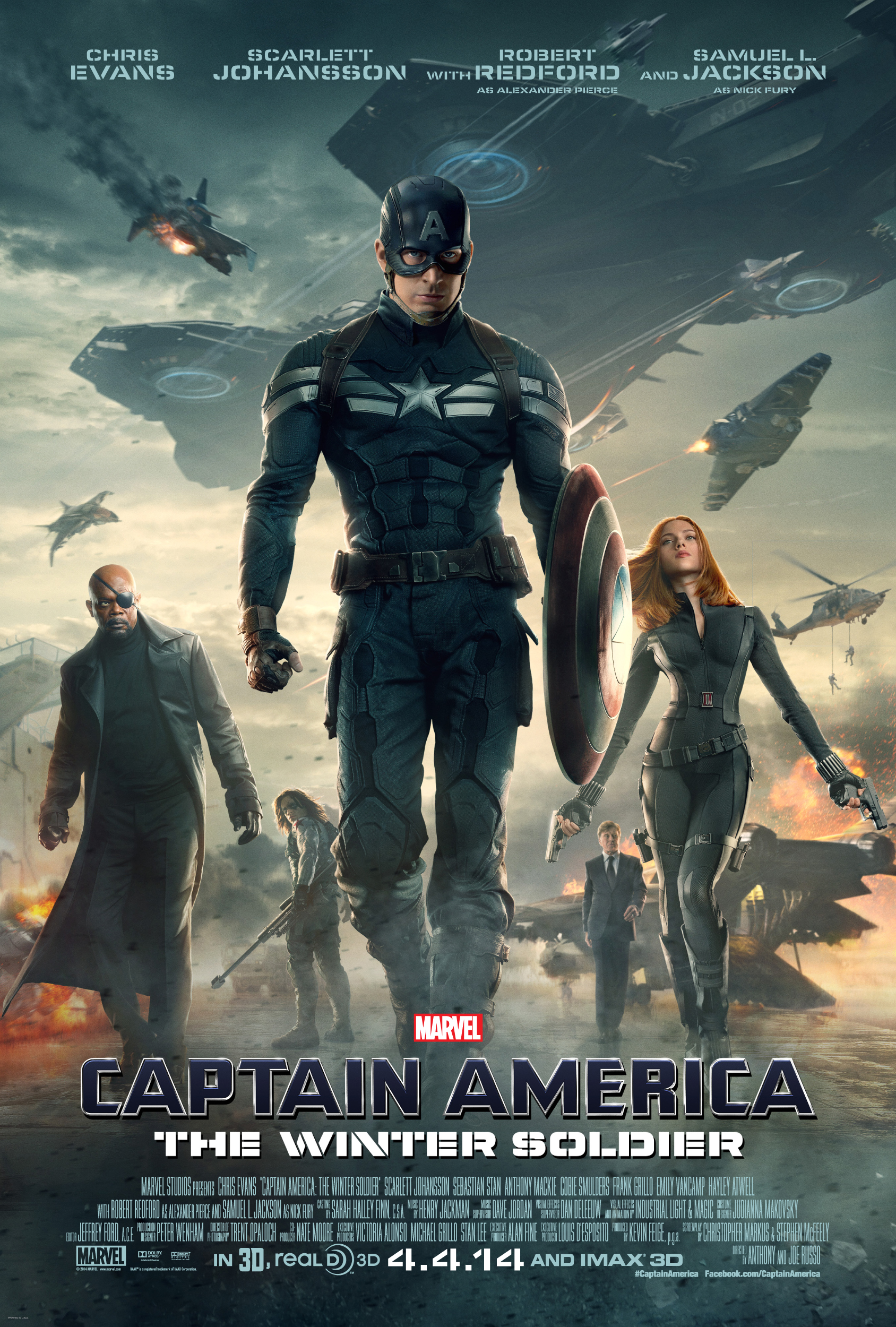 "Trailer: Captain America: The Winter Solider – TV Spot ""Defend"""