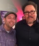 Me and Jon Favreau