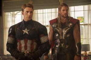 Avengers - Thor Captain America