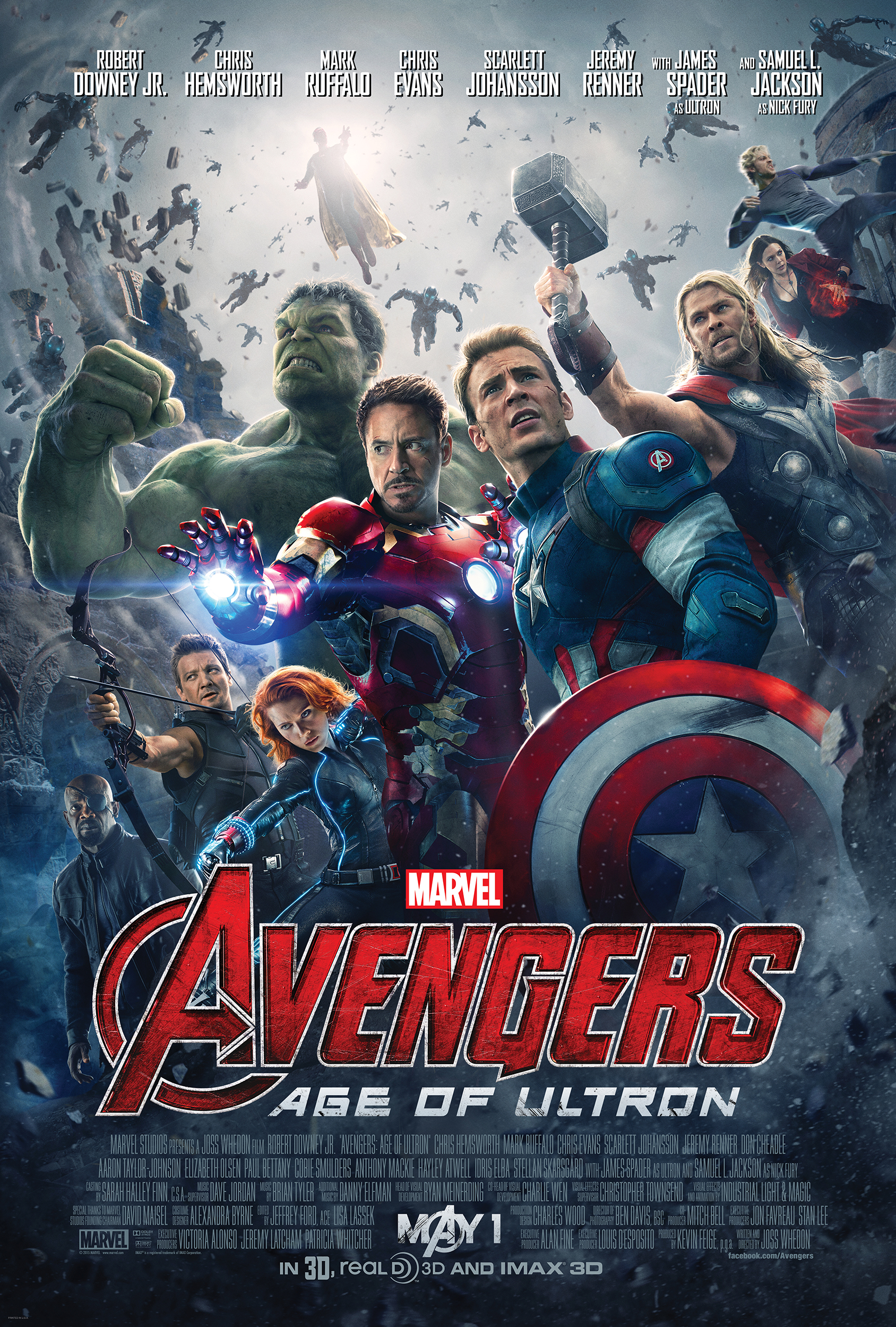 Trailer: Avengers: Age of Ultron – TV Spot 2